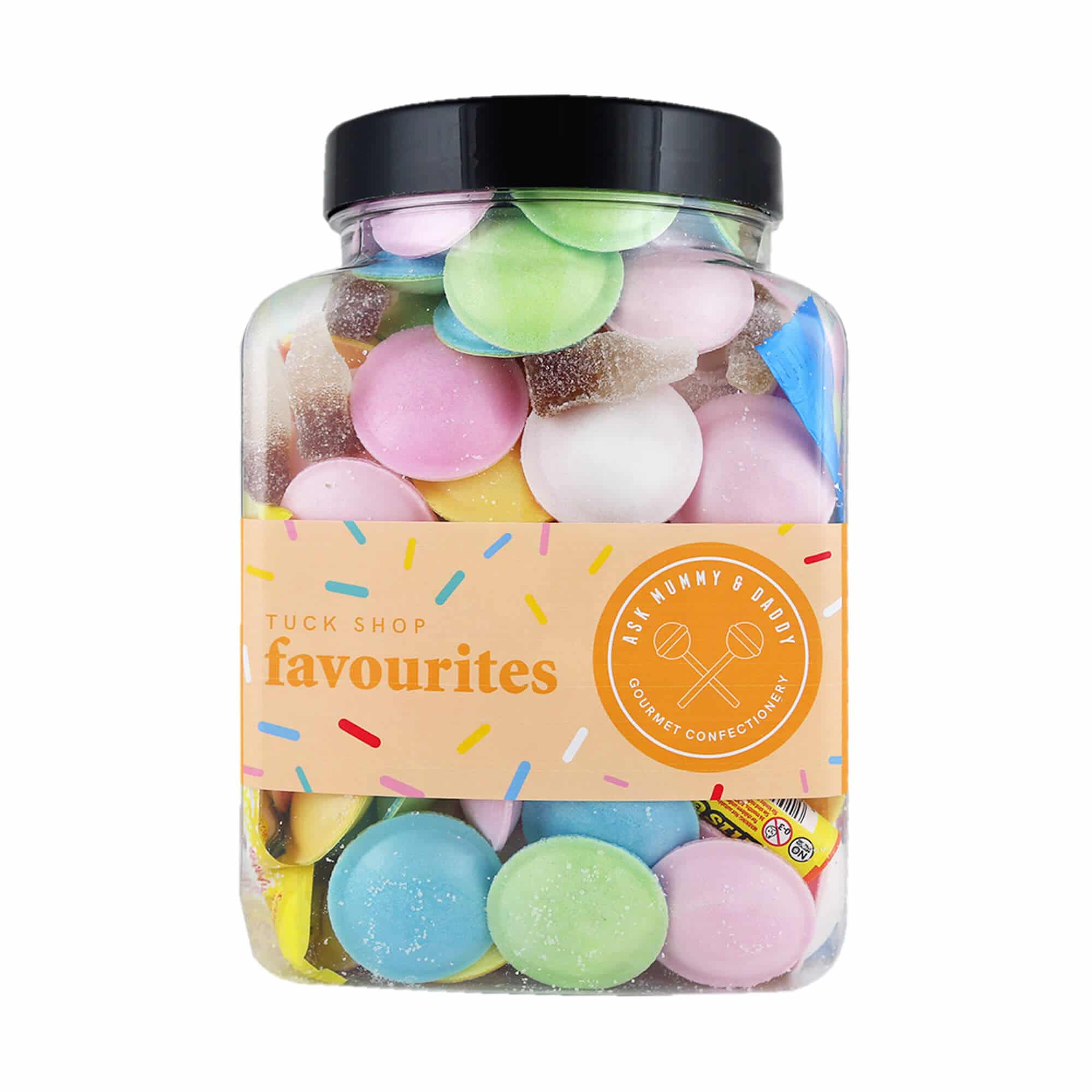 A jar of old school favourite sweets