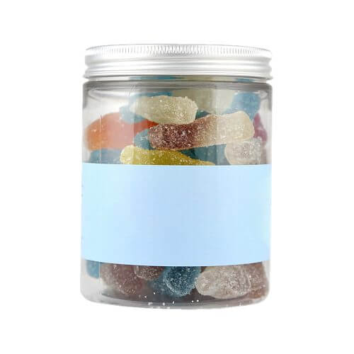 Personalised Jar of Mixed Fizzy Bottles