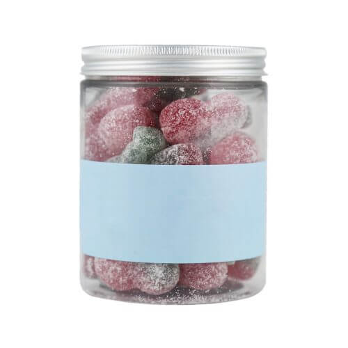 Personalised Jar of Fizzy Cherries