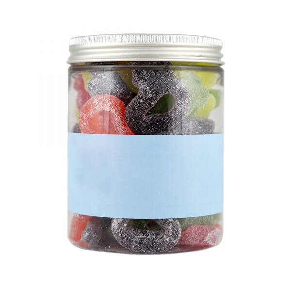 Personalised Jar of Classic Fizzy Dummies