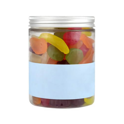 Personalised Jar of Forest Fruit Gummies