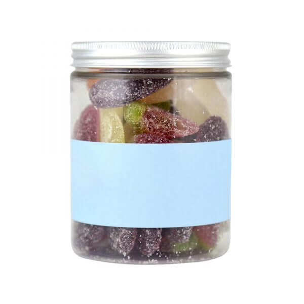 Personalised Jar of Jelly Fruit Slices