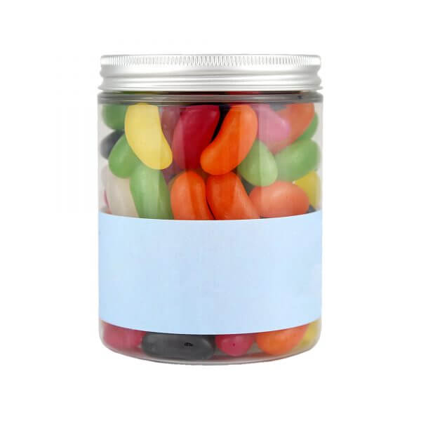 Jar of Personalised Jelly Beans.