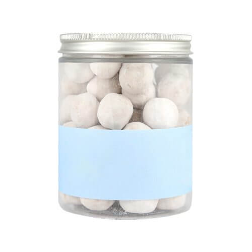 Jar of toffee flavoured Personalised Bon Bons