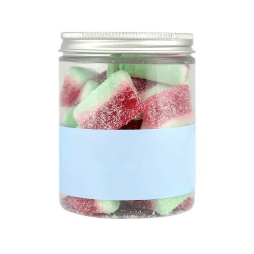 Personalised Jar of Fizzy Watermelon Slices