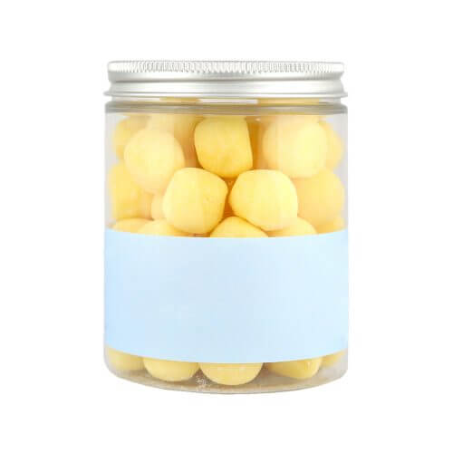 Personalised Jar of Lemon Bon Bons