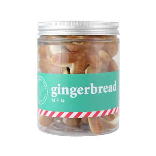 A Jar of gingerbread men jelly sweets