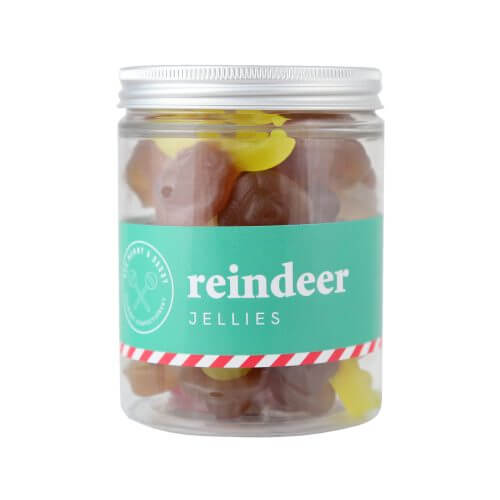 A Jar of Reindeer Jelly Sweets
