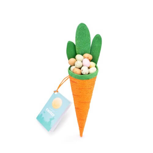Luxury Easter Carrot with Chocolate Eggs